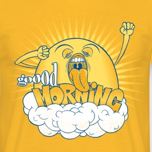 Yellow Not a morning person T-Shirts - Men's T-Shirt