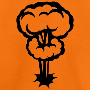 Explosion mushroom nuclear drawing 30 Shirts - Kids' Premium T-Shirt