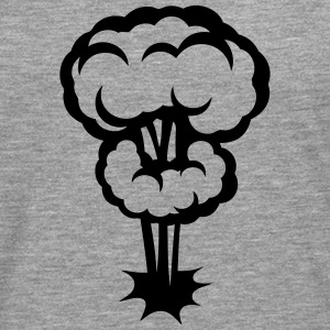 Explosion mushroom nuclear drawing 30 Long sleeve shirts - Men's Premium Longsleeve Shirt