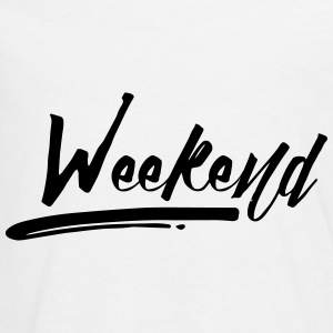 WEEKEND Langærmede shirts - Teenager premium T-shirt med lange ærmer