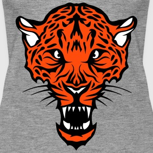 Leopards head super drawing 302 Tops - Women's Premium Tank Top