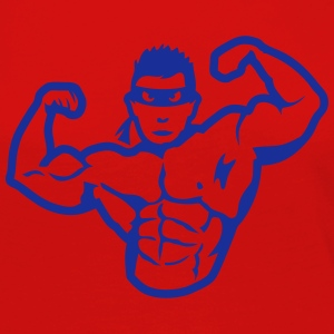 bodybuilder masque heros muscle 4 bodybu Manches longues - T-shirt manches longues Premium Femme