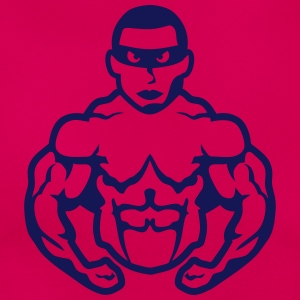Bodybuilder mask heros muscle muscular 9 T-Shirts - Women's T-Shirt