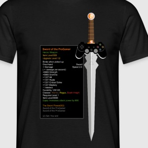 Sword of the ProGamer - Männer T-Shirt