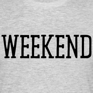 WEEKEND T-shirts - Herre-T-shirt