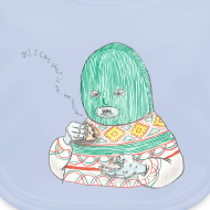 Design ~ All I care about is myself baby bib