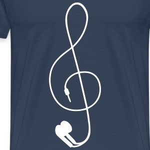 earphones T-Shirts - Men's Premium T-Shirt