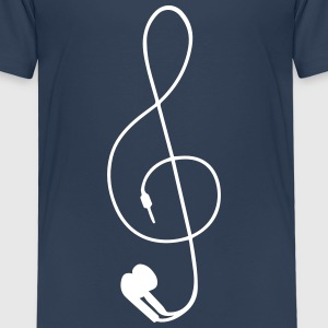 earphones Shirts - Kids' Premium T-Shirt