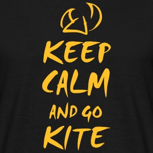 keep calm and kite Tee shirts - T-shirt Homme
