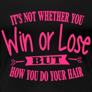 It's all about your hair T-Shirts - Women's Premium T-Shirt