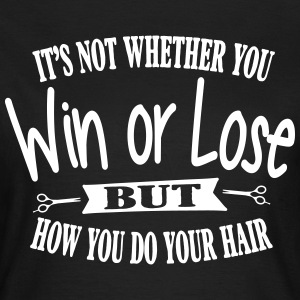 It's all about your hair T-shirts - Dame-T-shirt