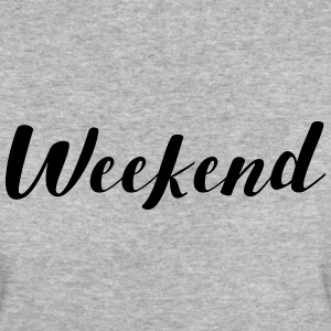 WEEKEND SATURDAY SUNDAY FRIDAY T-Shirts - Women's Organic T-shirt