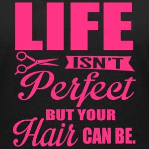 Your hair can be perfect T-Shirts - Women's V-Neck T-Shirt