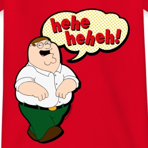 Family Guy Peter Griffin heheheheh! Teenager T-Shi - Teenage T-shirt