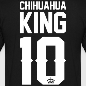 Chihuahua-King T-Shirts - Men's V-Neck T-Shirt