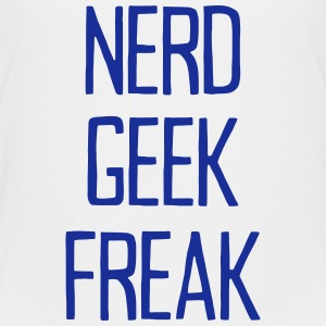NERD GEEK FREAK T-shirts - Børne premium T-shirt