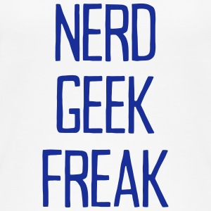 NERD GEEK FREAK Topper - Øko-singlet for kvinner