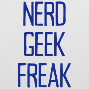NERD GEEK FREAK Bags & Backpacks - Tote Bag