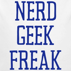 NERD GEEK FREAK Baby Bodys - Baby Bio-Langarm-Body