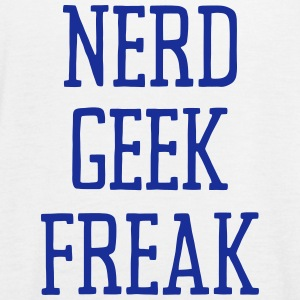 NERD GEEK FREAK Top - Top da donna della marca Bella