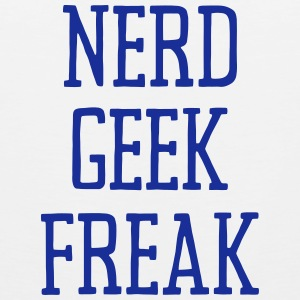 NERD GEEK FREAK Tank Tops - Tank top premium hombre