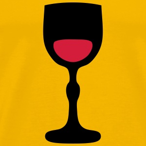 Wine glass _202 T-Shirts - Men's Premium T-Shirt