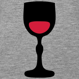 Wine glass _202 Tops - Women's Premium Tank Top
