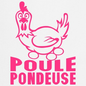 poule pondeuse oeufs citation expression Tabliers - Tablier de cuisine