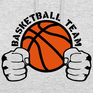 Basketball team fist closed hit logo Hoodies & Sweatshirts - Unisex Hoodie