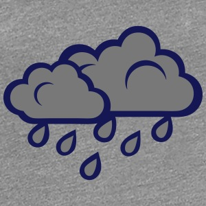 Cloud rain gray 102 T-Shirts - Women's Premium T-Shirt
