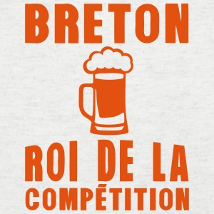 breton biere roi competition alcool Tee shirts - T-shirt Homme col V