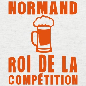 normand roi competition alcool  Tee shirts - T-shirt Homme col V