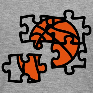 Basketball ball puzzle 2901 Long sleeve shirts - Men's Premium Longsleeve Shirt