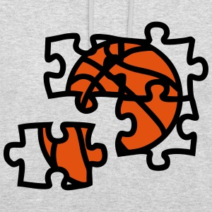 Basketball ball puzzle 2901 Hoodies & Sweatshirts - Unisex Hoodie