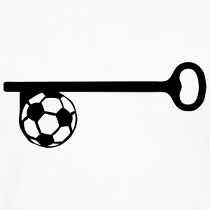 key football soccer Long sleeve shirts - Men's Premium Longsleeve Shirt