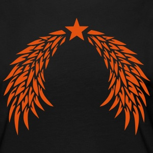 Wing star angel 29012 Long Sleeve Shirts - Women's Premium Longsleeve Shirt