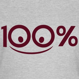 Add text 100 percent logo smile T-Shirts - Women's T-Shirt