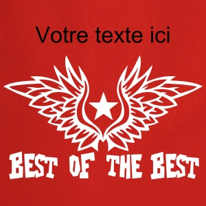 Add text best of the best wing logo  Aprons - Cooking Apron