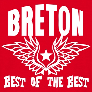 breton best of the best aile logo Tee shirts - T-shirt Homme