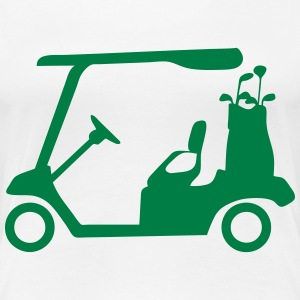 Golf cart 02 T-Shirts - Women's Premium T-Shirt