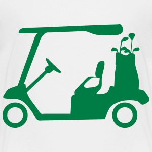 Golf cart 02 Shirts - Teenage Premium T-Shirt