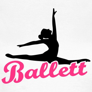 Ballett T-Shirts - Frauen T-Shirt