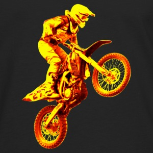 enduro orange Long sleeve shirts - Men's Premium Longsleeve Shirt