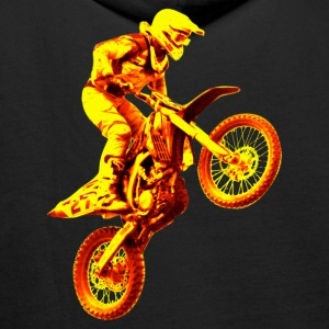 enduro orange Sweaters - Mannen Premium hoodie