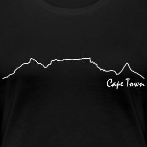 Table Mountain Premium - T-shirt Premium Femme