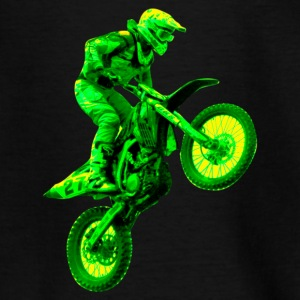 enduro green T-Shirts - Kinder T-Shirt