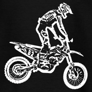enduro white Shirts - Kids' T-Shirt