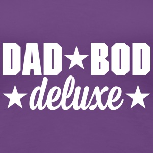 Dad bod deluxe T-shirts - Dame premium T-shirt