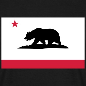 Flag of California T-Shirts - Men's T-Shirt