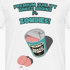 Brainz - Baked Beings Brains for Zombies T-Shirts